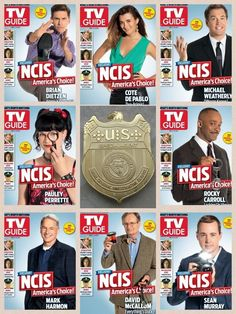 NCIS TV Guide Team photo!