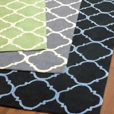 Quatrefoil Balerma Rug from Ballard Designs. Looks like it's no longer available :(