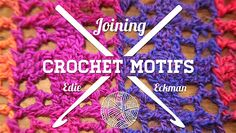 Learn How To Join Granny Squares in: Joining Crochet Motifs on Craftsy - Everybody loves crocheting granny squares. Nobody likes to join them! Edie Eckman shares 11 easy, pretty crocheted joins in this FREE online class! Joining Crochet Motifs, Tunisian Crochet, Crochet Granny, Hand Crochet, Crochet Stitches, Crochet Hooks, Scarf Crochet, Freeform Crochet, Diy Crochet