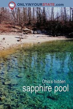 This hidden sapphire pool is the best outdoor attraction in Ohio. With clear, me… This hidden sapphire pool is the best outdoor attraction in Ohio. With clear, mesmerizing water, it definitely deserves a spot on your summer travel bucket list. Day Trips In Ohio, Weekend Trips, Ohio Weekend Getaways, Mohican State Park Ohio, Cincinnati, Cleveland Ohio, Columbus Ohio, Dayton Ohio, Places To Travel