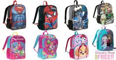 Character Backpacks Just $6! PLUS FREE In-Store Pickup! Down From $10!