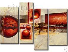 Cuadro Las esferas rojas