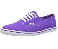928a050ae56458 Vans Authentic Lo-Pro Neon Electric Purple 1