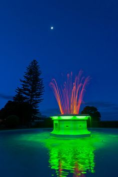Tom Parker Fountain (art deco), Napier, Hawkes Bay, North Island, New Zealand