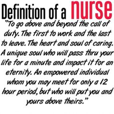 @Ronalee Lohrbach - appreciate you and nurses like you!