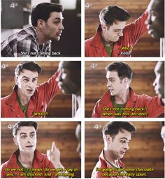 misfits - Nathan was the best but Rudy is still hilarious haha!