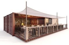 Elegant Design shipping containers Restaurant Container ...