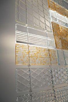 A Glass Act: Fabbian's Architectural Adventure Verre Design, Glass Design, Glass Room Divider, Divider Design, Glass Brick, Roof Light, Interior Decorating, Interior Design, Facade Design