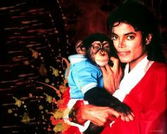 Michael and Bubbles awe