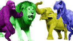 Animals Finger Family Songs | Animals Kids Songs | Wild Animals Baby Rhymes | Dinosaurs Videos https://youtu.be/rJPsEN8LKOo