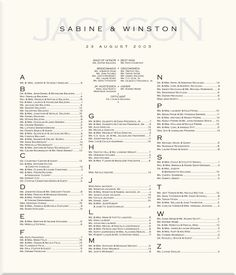 Wedding Reception Table assignment | ... Guest Seating Scroll-Wedding Reception Guest Seating Assignments