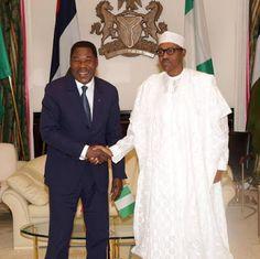 President of Benin republic visit Nigerian President Buhari at state house - http://www.nollywoodfreaks.com/president-of-benin-republic-visit-nigerian-president-buhari-at-state-house/