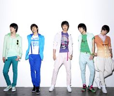 Shinee, styled by designer Ha Sang Baek   krnloop 2008