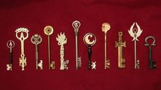 Locke & Key is an incredible comic and theses keys are amazing,  I wants them and need them