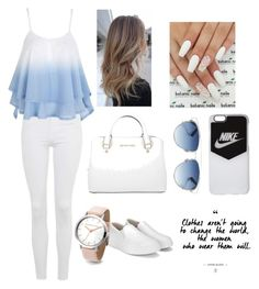 """""""Casual 🌞🌞"""" by fashion-coma ❤ liked on Polyvore featuring Topshop, Michael Kors, NIKE and Christian Dior"""