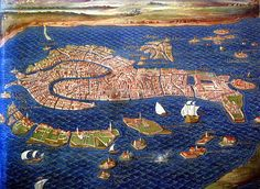 Vatican Museum, Gallery of Maps - Venice