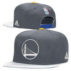 detailed look 6264c ddfe6 Golden State Warriors adidas Alternate Logo Snapback Cap - Slate Nba Hats,  Baseball Hats,