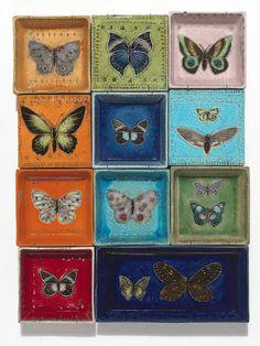「蝶たち」1957年 | RUT BRYK Gaudi, Art Pictures, Google Images, Decorative Boxes, Artsy, Ceramics, Gallery, Inspiration, Finland