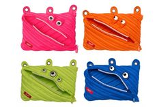 Monster 3 Ring Binder Pouch - 4 Pack - #zipit - #Backpacks - #Promo