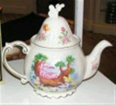 Alice in Wonderland China teapot by Disney---already have this one