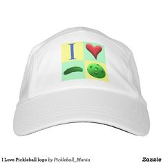 I Love Pickleball logo Hat