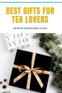 It's time to find the best holiday gift for that friend or loved one who is obsessed with tea. Rest easy. Welcome to our 2020 holiday gift guide for tea lovers. So, let's waste no time and dive right in. You might even find a cool tea gift for yourself as well. P.S., all of the tea lover gifts below are made or sold by small and mid-sized businesses. Support small this holiday season. #tea #herbalte # Health&Wellness #TeaRecipes #gift #giftbox
