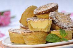 Portuguese Recipes, Portuguese Food, Pastry Cake, Mini Desserts, Your Recipe, Quick Bread, Sweet And Salty, Wedding Cupcakes, Pretzel Bites
