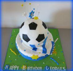 Football cake - Cake by Sugar&Spice by NA