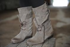 humanoid › Soulsister webshop  Really want a pair of grey boots like this.