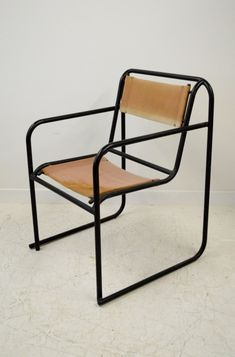 'RP-7' Bauhaus tubular steel chair by Bruno Pollak for PEL,1932