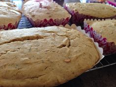 Colleen Yurgida has baked some DELICIOUS Peanut Butter Toffee Dream Cakes! Strawberry Sunrise frosting would make this kind of like a PB& J cake...