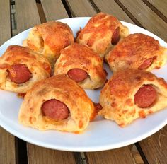 for the FOOD! (Who needs the game?) Today's recipe is a football snack that'll be quickly devoured by everyone - Grown-up Pigs in a Blanket. Meat Recipes, Snack Recipes, Cooking Recipes, Simple Meals, Easy Meals, Family Recipes, Family Meals, Football Snacks