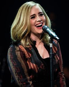 It is very good decision that Adele decides to give up smoking to safe her voice. Adele, full name is Adele Laurie Blue Adkins MBE is an English singer and Adele Adkins, Adele Live, Adele Music, Female Singers, Reality Tv, Girl Crushes, Role Models, My Idol, The Voice