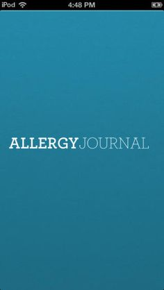 Food Allergy Journal is an app that allows you to track your symptoms and log what foods you are eating.