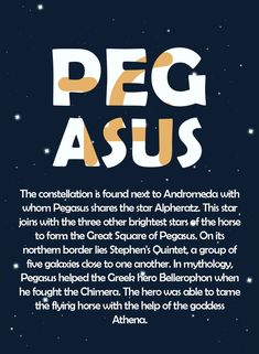 Pegasus Constellation, Star Facts, Astronomical Events, Group Of Five, Soul Searching, Star Sky, Bright Stars, Out Of This World, Writing Ideas