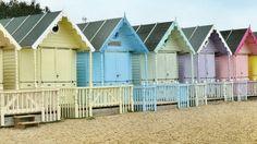 I Wish I Was At The Beach Huts