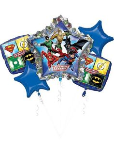 Looking for Justice League Balloon Bouquet for your next celebration? Browse Birthday in a Box for the most wanted and party accessories at reduced prices.