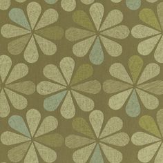 Dahlia CR Upholstery in Mint Tea. This large scale Crypton upholstery reflects a trend in fashion toward bold, graphic pattern.