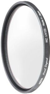 Hoya 52mm UltraViolet (UV) Pro1 Digital Multi-Coated (DMC) Glass Filter by Hoya. $20.00. The Hoya 52mm Ultraviolet (UV) Pro 1 Digital Multi-Coated Glass filter helps protect your lens from dust, moisture and scratches, which can lead to costly repairs.    FEATURES    Digital Multi-Coated  Digital multi-coated filters greatly reduce the appearance of lens flare and ghosting caused by reflections.    Black Almite Frame  Filters feature a black matte aluminum satin finish almite ...