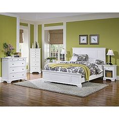 Home Styles Naples Queen Bed  Sears Item# 0080651900  $420