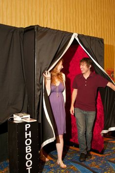 Photo Booths! T