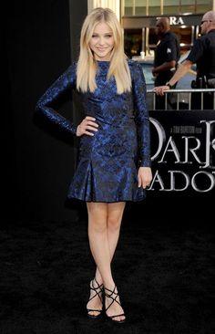 @roressclothes clothing ideas #women fashion Chloe Grace Moretz's Glamorous Dress