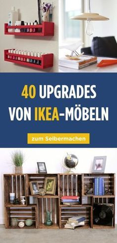40 absolutely awesome Ikea upgrades that only look expensive - Ikea DIY - The best IKEA hacks all in one place Decoration Bedroom, Diy Home Decor, Room Decor, Home Upgrades, Diy Kallax, Diy Casa, Ikea Hackers, Ikea Bedroom, Ikea Furniture