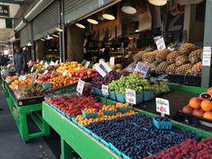 Market colours downtown.