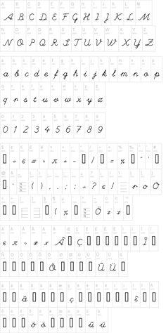 Hand Font | dafont.com