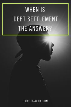 Are you considering debt settlement as a way to get your financial freedom back? Before doing so read this article to see if debt settlement is the answer.