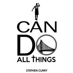 7d212e5f5bd7d Vinyl Wall Decal I Can Do All Things Stephen Curry Quote Basketball Sayings  Sport Gym Room Custom Vinyl Decor Sticker Mural Art Print TT8460