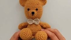 Ayı Teddy Yapımı Amigurumi – (Crochet Amigurumi Teddy Bear) – Home Trends 2020 Teddy Bear Sewing Pattern, Crochet Bear Patterns, Teddy Bear Clothes, Teddy Bear Toys, Crochet Unicorn Hat, Knitted Teddy Bear, Teddy Bear Pictures, Bear Valentines, Stuffed Toys Patterns