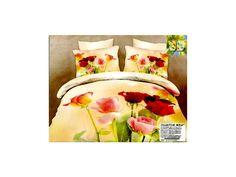 Povlečení 3D ROLINDA 200x220 - BytovyShop.cz Comforters, Blanket, Bed, Creature Comforts, Quilts, Stream Bed, Blankets, Beds, Cover