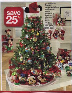 Mickey Mouse Tree … | Pinteres…